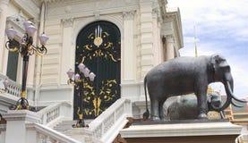 Het Grote paleis van Thailand Royalty-vrije Stock Foto's