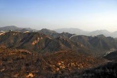 Het grote panorama van de Muur Stock Foto's