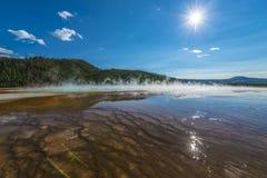 Het grote Prismatische Nationale Park van Yellowstone Royalty-vrije Stock Foto's