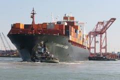 Het grote Schip van de Container royalty-vrije stock foto