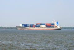 Het grote Schip van de Container Stock Afbeelding