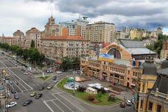 Het grote stadsleven Royalty-vrije Stock Afbeeldingen