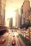 Het grote stadsleven Stock Fotografie
