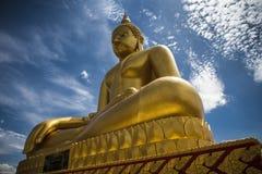 Het grote standbeeld van Boedha stock foto's