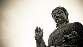 Het grote Standbeeld van Boedha stock afbeeldingen