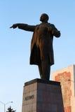 Het grote standbeeld van Lenin Stock Afbeeldingen