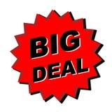 Het grote Teken van de Overeenkomst Royalty-vrije Stock Fotografie