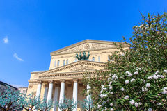 Het Grote Theater van Moskou Stock Foto