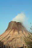 Het grote vulcan roken Stock Foto's