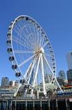 Het Grote Wiel in Seattle Stock Foto
