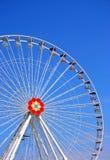 Het grote wiel van Prater Stock Afbeeldingen