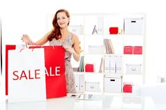 Het grote winkelen Stock Fotografie