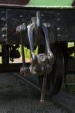 Het haak- apparaat van een spoorweg oud platform Royalty-vrije Stock Fotografie