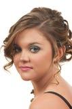 Het haar en maakt omhoog Royalty-vrije Stock Foto