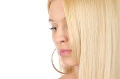Het haar van Goden Royalty-vrije Stock Foto