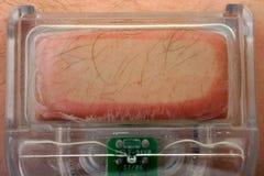 Het haarverwijdering van de laser Stock Afbeelding