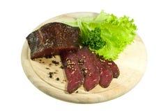 Het Haasbiefstuk van het rundvlees Royalty-vrije Stock Foto