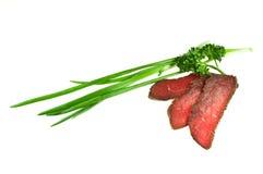 Het Haasbiefstuk van het rundvlees Stock Afbeeldingen