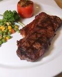 Het haasbiefstuklapje vlees van het rundvlees Royalty-vrije Stock Afbeeldingen