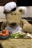 Het Hakken van de chef-kok Stock Afbeelding