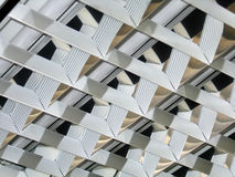 Het halogeenlampen van het bureau Stock Fotografie