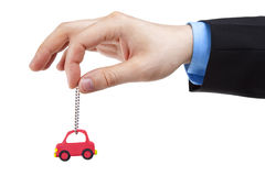 Het handel drijven van de auto royalty-vrije stock afbeeldingen