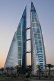 Het handelscentrum van de wereld - Bahrein Stock Afbeelding