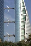 Het handelscentrum van de wereld - Bahrein Royalty-vrije Stock Foto's