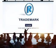 Het handelsmerkmerk herstelt het Concept van Beschermingscopyright Royalty-vrije Stock Afbeelding