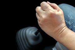 Het handtoestel van de handgreep stock foto