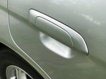 Het handvat van de autodeur van de auto Stock Fotografie