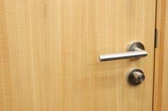 Het handvat van de deur Stock Foto's