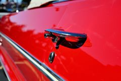 Het Handvat van de Deur van de auto Stock Foto