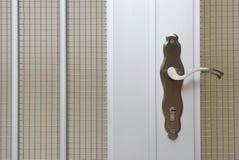 Het Handvat van de poortdeur royalty-vrije stock afbeeldingen