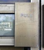Het handvat van de trekkrachtdeur Stock Afbeelding