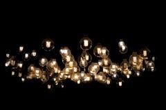 Het hangen Lichten Stock Foto's