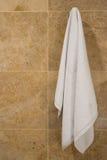 Het hangen van de handdoek Stock Afbeelding