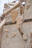 Het breken van Muur Stock Afbeeldingen