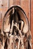 Het hangen van oude paarduitrusting 2 Royalty-vrije Stock Fotografie