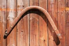Het hangen van oude paarduitrusting 6 Stock Fotografie