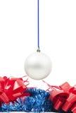 Het hangende stuk speelgoed van het Nieuwjaar en Stock Fotografie