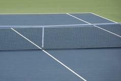 Het harde hof van het tennis stock afbeelding