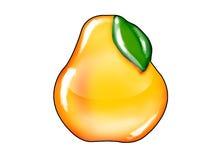 Het harde suikergoed van het perenfruit Stock Fotografie