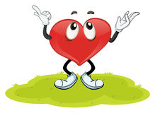Het hart Stock Afbeelding
