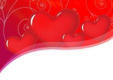Het Hart D van de valentijnskaart Royalty-vrije Stock Foto's