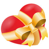 Het hart is een gift Stock Foto
