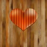 Het hart gevormde symbool van de Dag van Valentijnskaarten. + EPS8 Stock Afbeeldingen