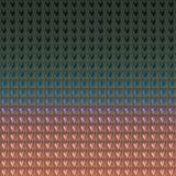 Het hart maakte geweven achtergrond in reliëf Gekleurd abstract ontwerp Het behang van het liefdethema royalty-vrije illustratie