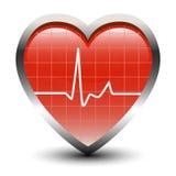 Het hart slaat royalty-vrije illustratie