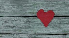 Het hart slaat stock footage